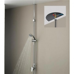 Bristan JU-MTLSHX-C Jute Mini Twinline Thermostatic Shower Valve Chrome