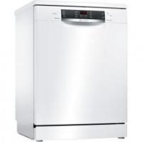 Bosch SMS67MW00G 14 Place Settings Full Size Dishwasher with PerfectDry - White - A+++ Energy Rated