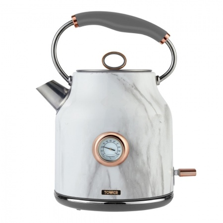 Tower T10020WMRG Bottega 3KW 1.7L Stainless Steel Kettle Marble