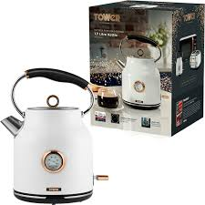 Tower T10020W Bottega 3KW 1.7L Kettle White