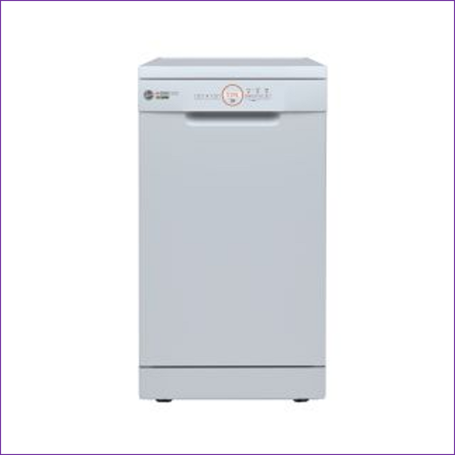 Hoover HDPH2D1049W-80 10-place slimline Dishwasher WHITE