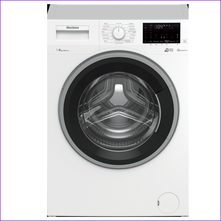 Blomberg LWF184410W 8 kg 1400 Spin Washing Machine - White